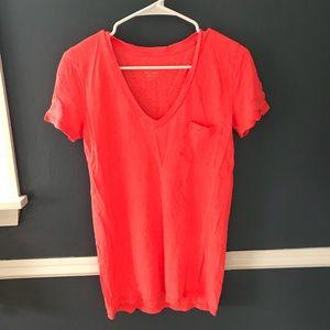 100% linen j crew t shirt!